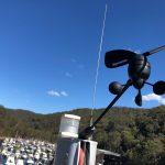 Wind Instrument up mast