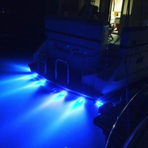 Underwater lights fitted by Bird Electrical, Sydney