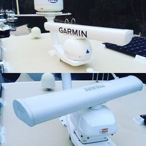 Garmin Radar replaces an older radar scanner by Bird Electrical, Sydney