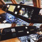 Garmin Installation at the helm