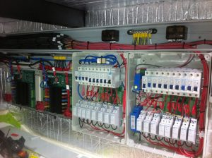 Mains Wiring below decks