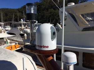 Raymarine Night Vision Camera Installation