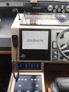 Garmin installed on Fairline 60 Motor Yacht
