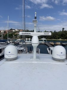 Princess 82 Radar upgrade to Garmin