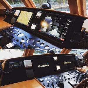 Garmin Installation at the helm