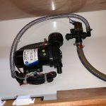 Head Fresh Water Flush conversion